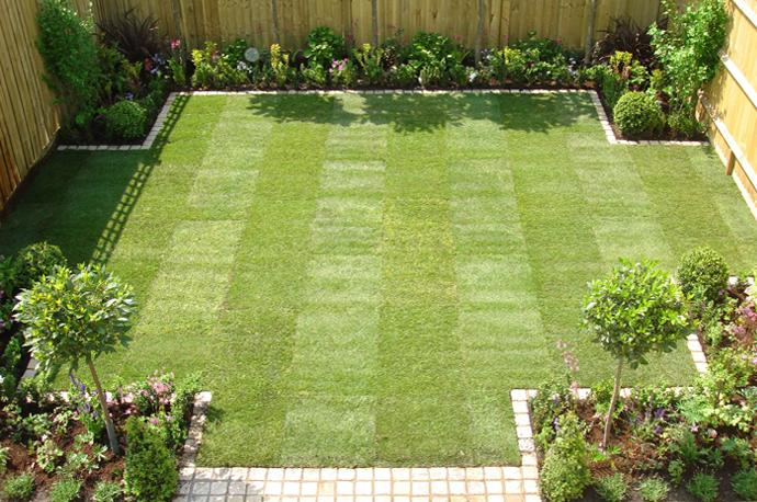 Superb Simple Garden Ideas Incridible Square Grass Field For Easy Garden Ideas By Simple  Garden Ideas Simple Part 8