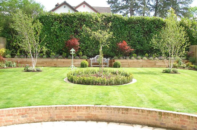 Landscape gardening winchester hampshire andover and for Landscaping your garden